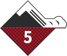 Avalanche risk 5